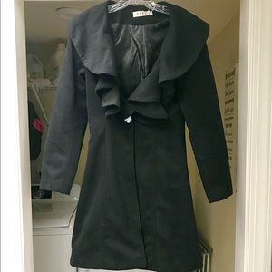 Jackets & Blazers - NWT Black Longer-Length Coat
